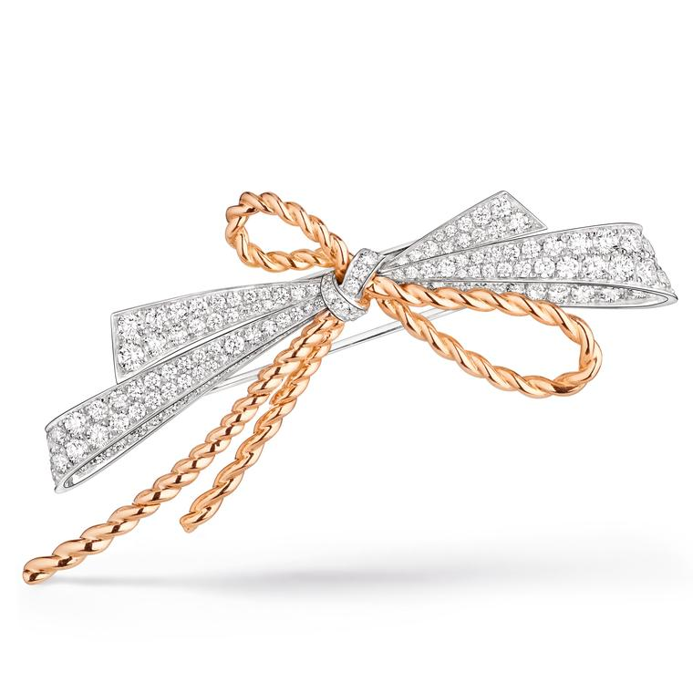 Chaumet Insolence bow brooch