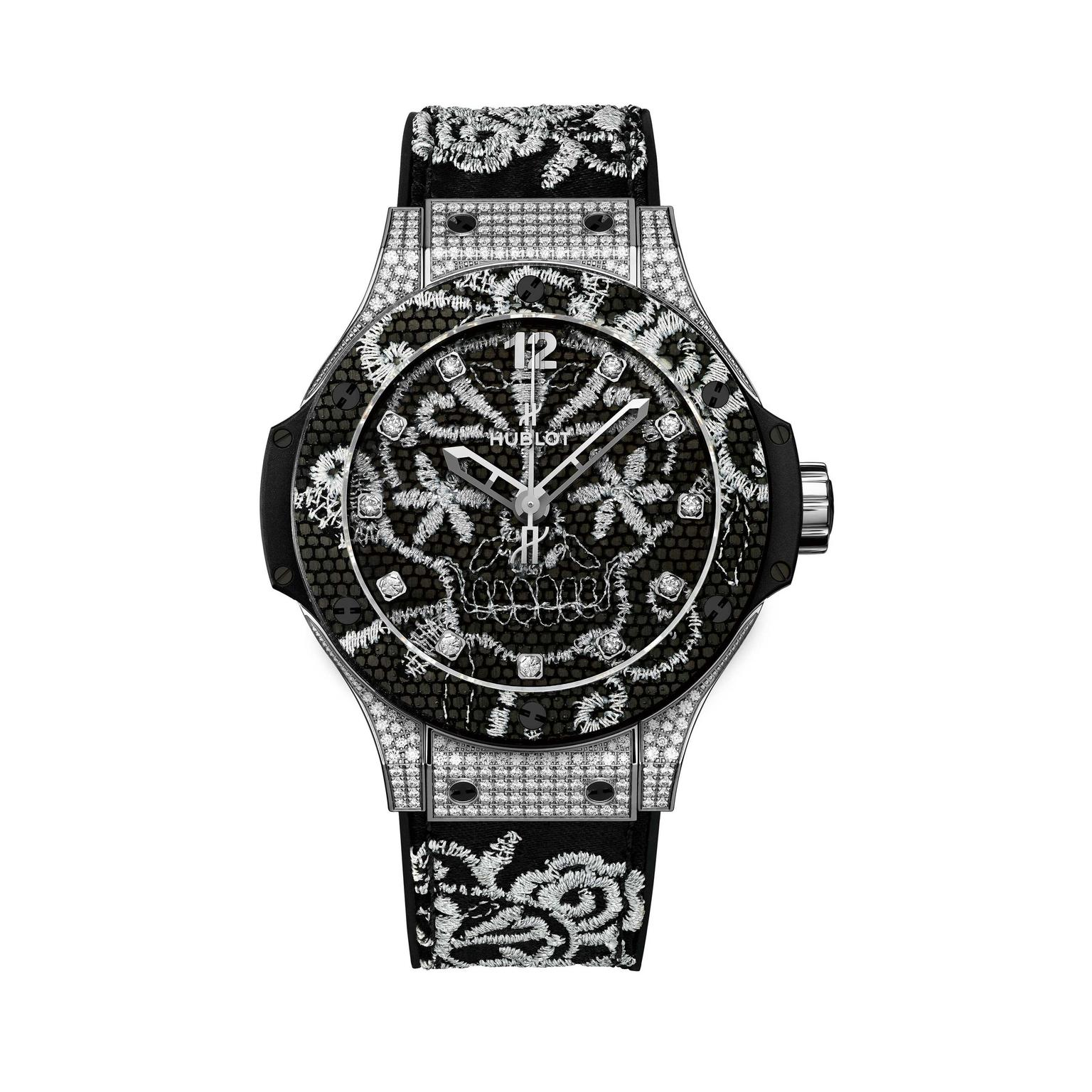 Hublot-black-and-silver-lace-watch