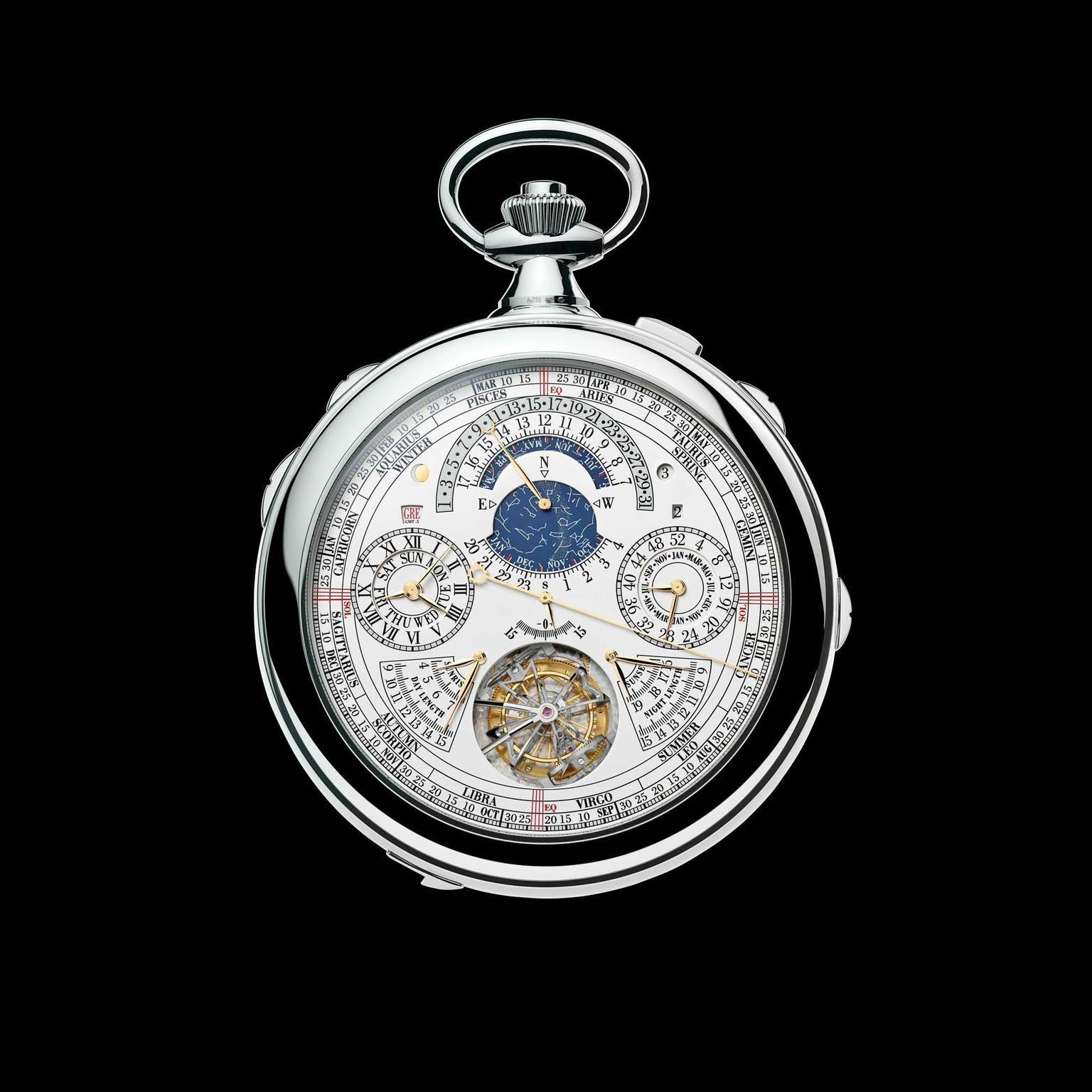 Vacheron Constantin Reference 57260 pocket watch second dial
