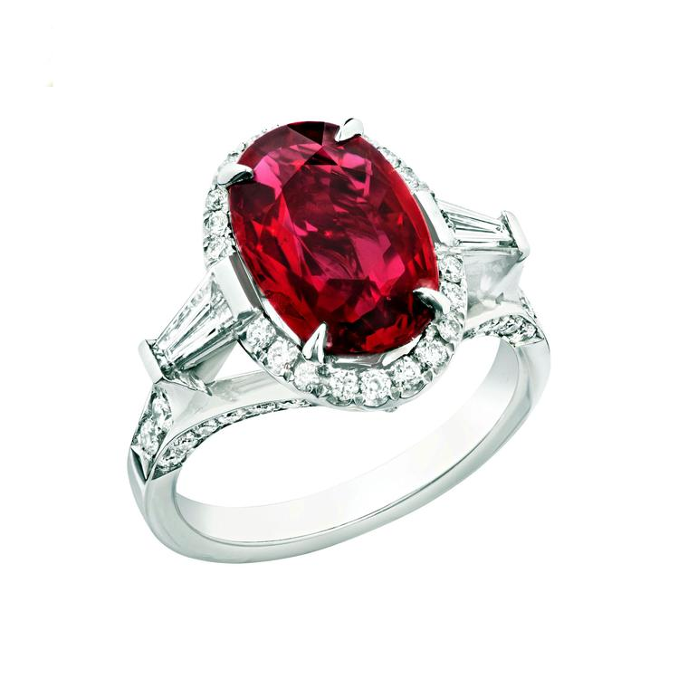 Faberge Devotion ruby ring 5ct