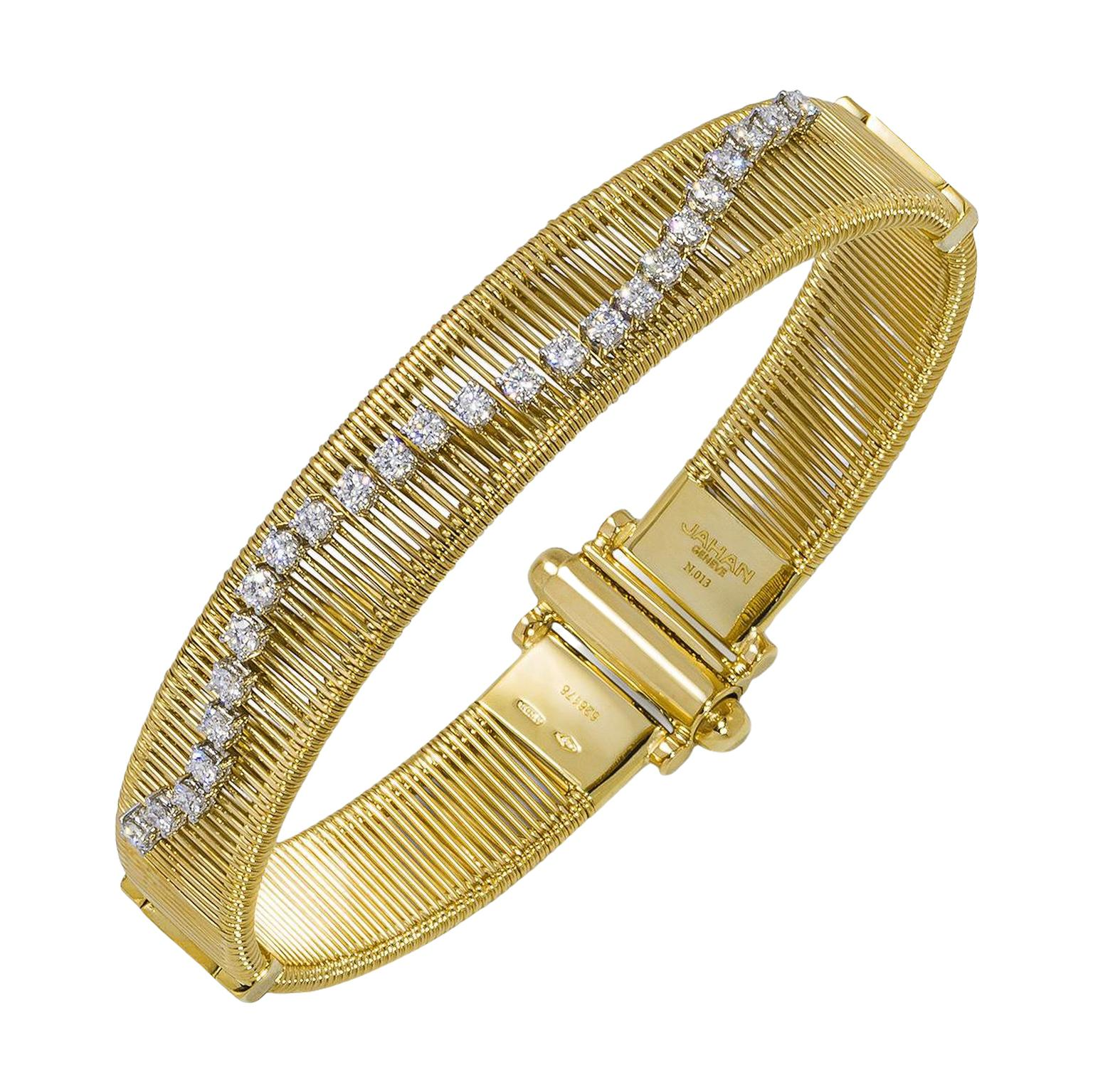 Nour by Jahan bracelet from the Dancing diamonds collection £7,920