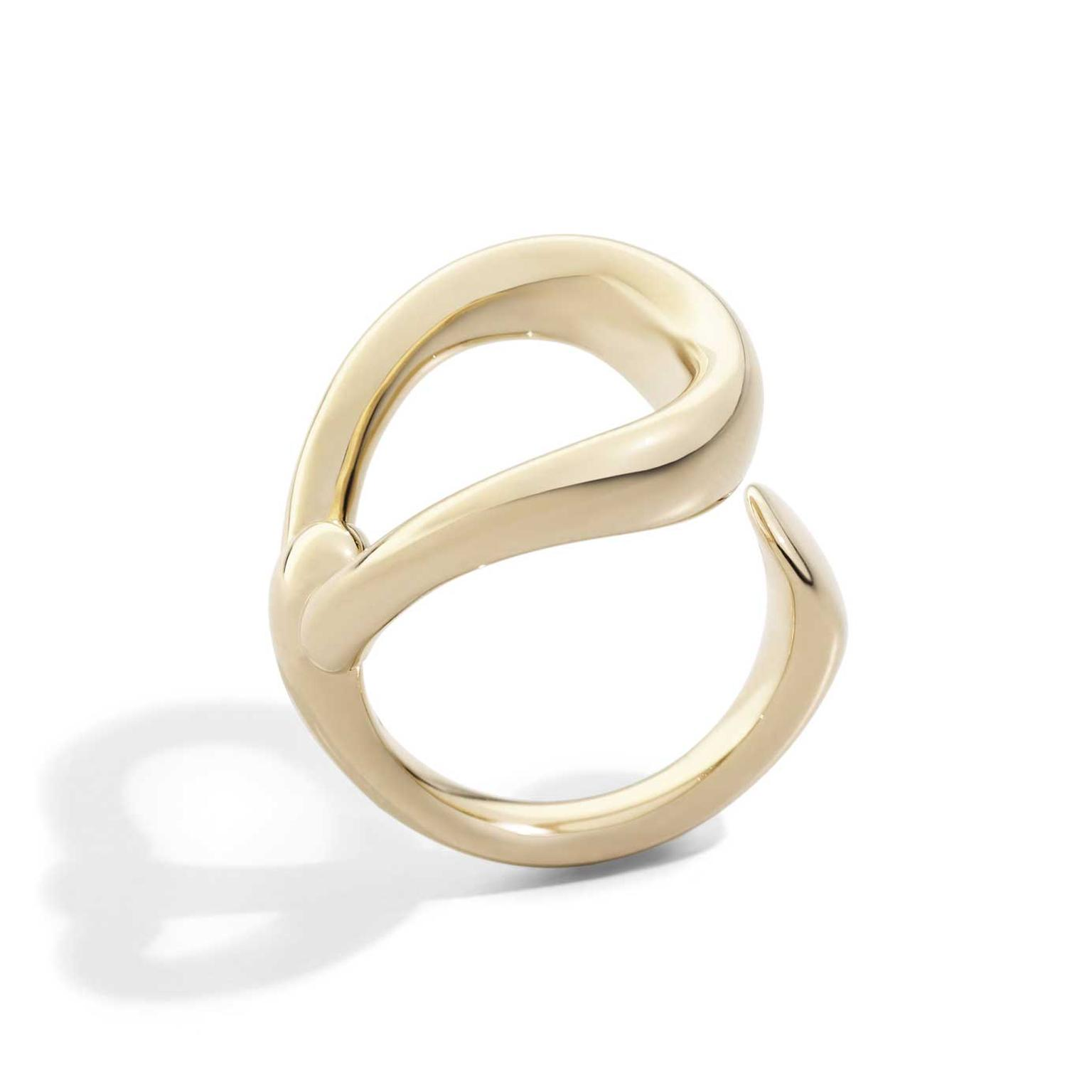 Pomellato Fantina rose gold open ring