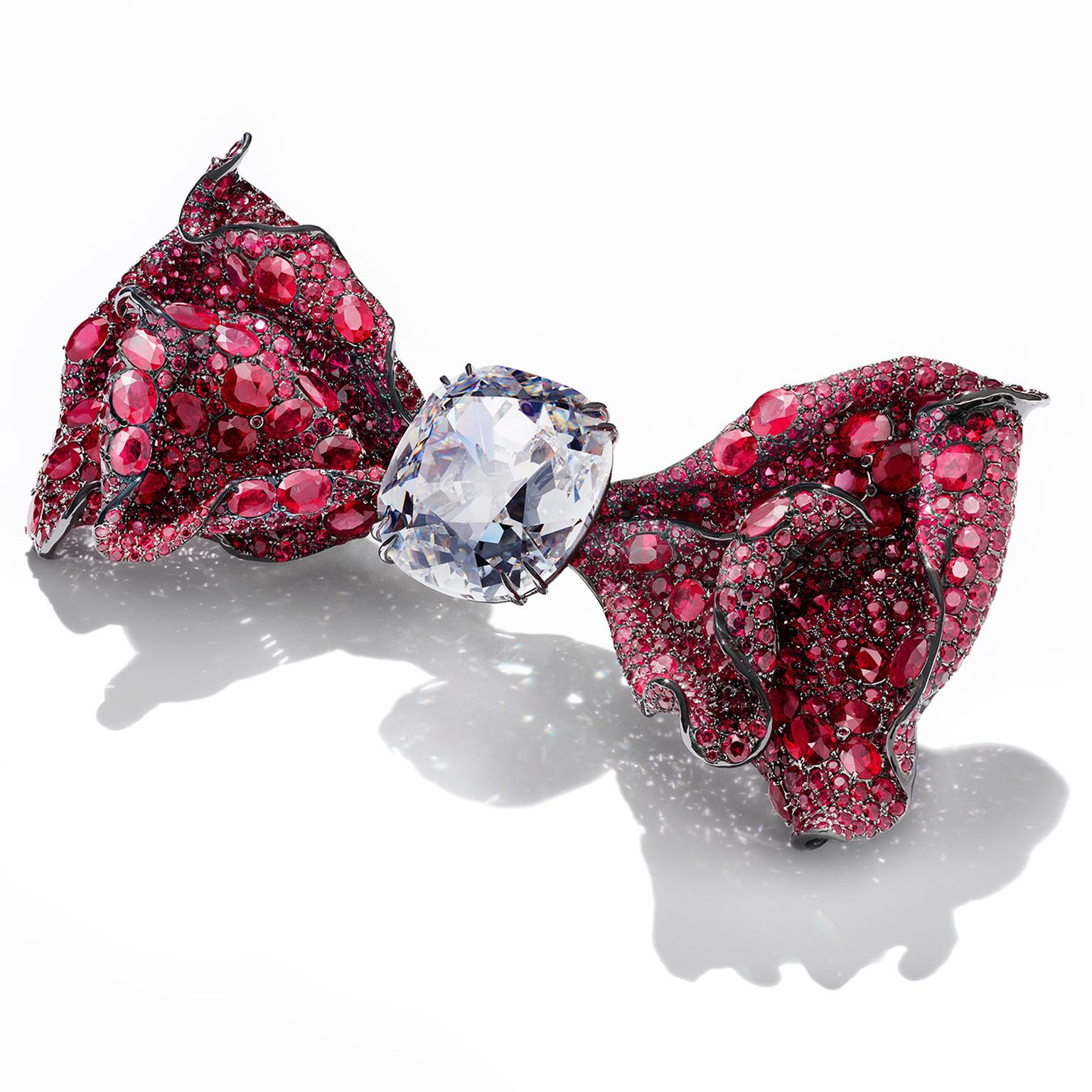 Cindy Chao The Art Jewel 2016 Black Label Masterpiece Bowtie brooch