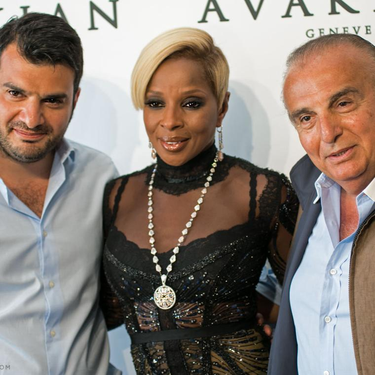 Mary J. Blige in Avakian jewellery