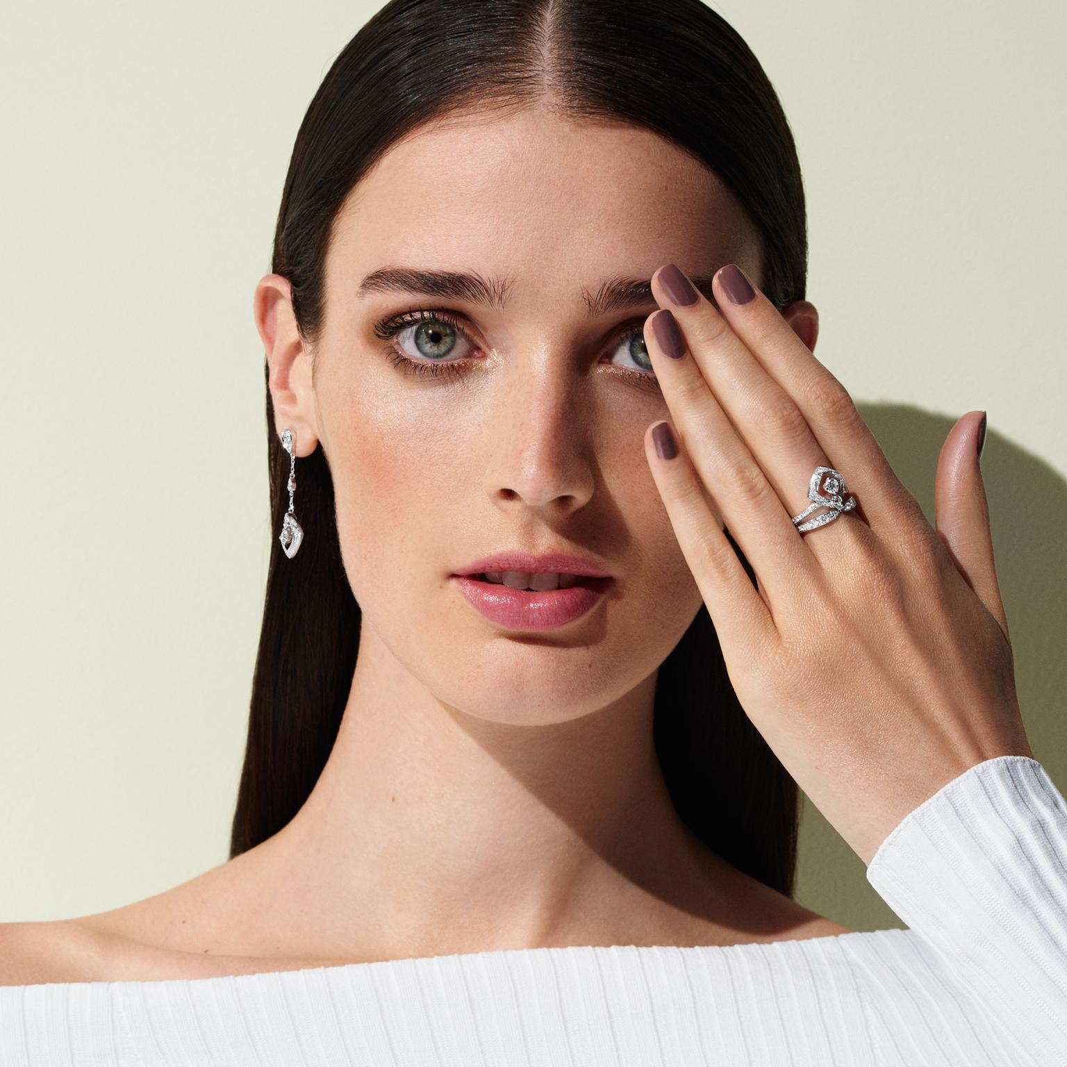 Chaumet Josephine Diptyque earrings and ring