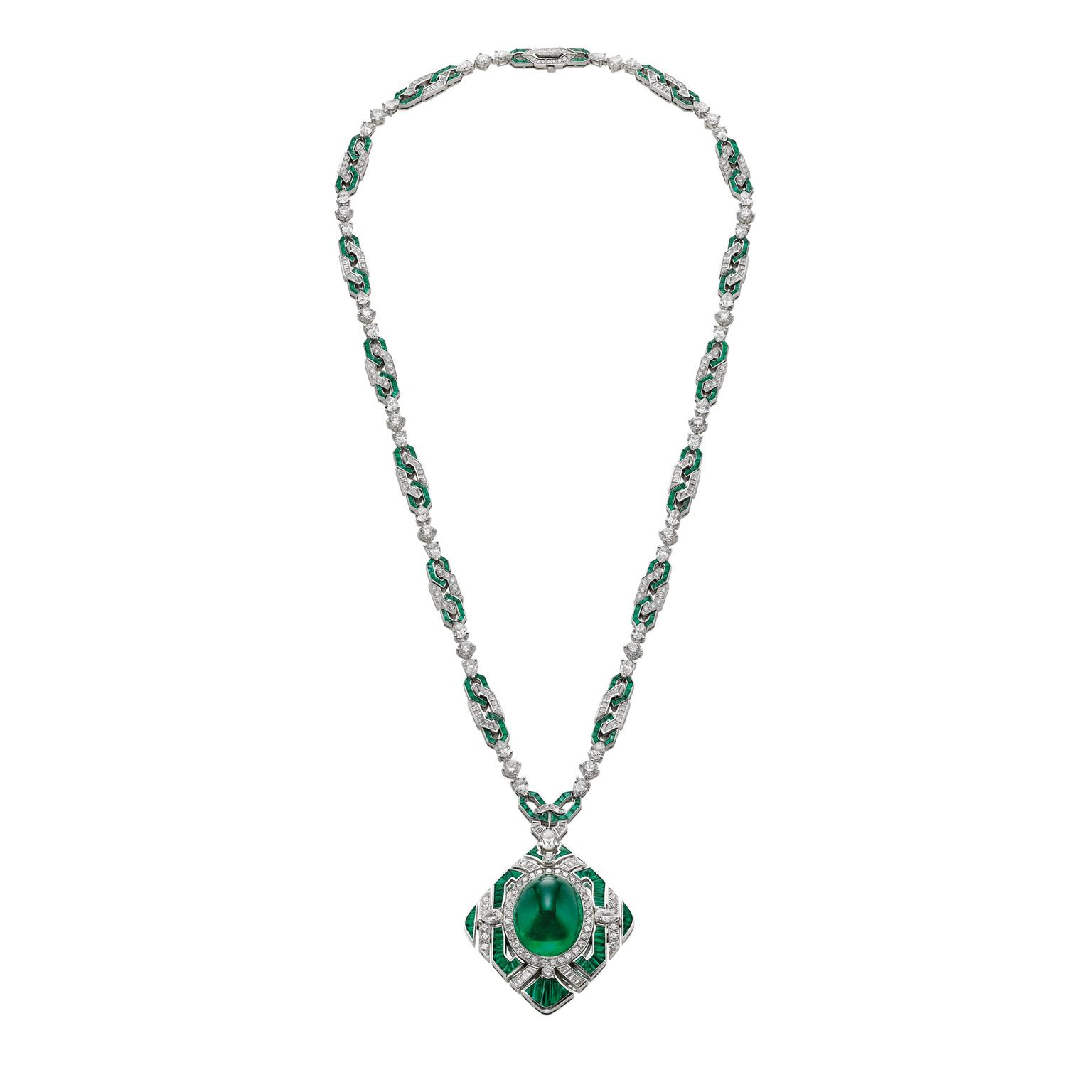 Bulgari Festa The Green Liz high jewellery necklace