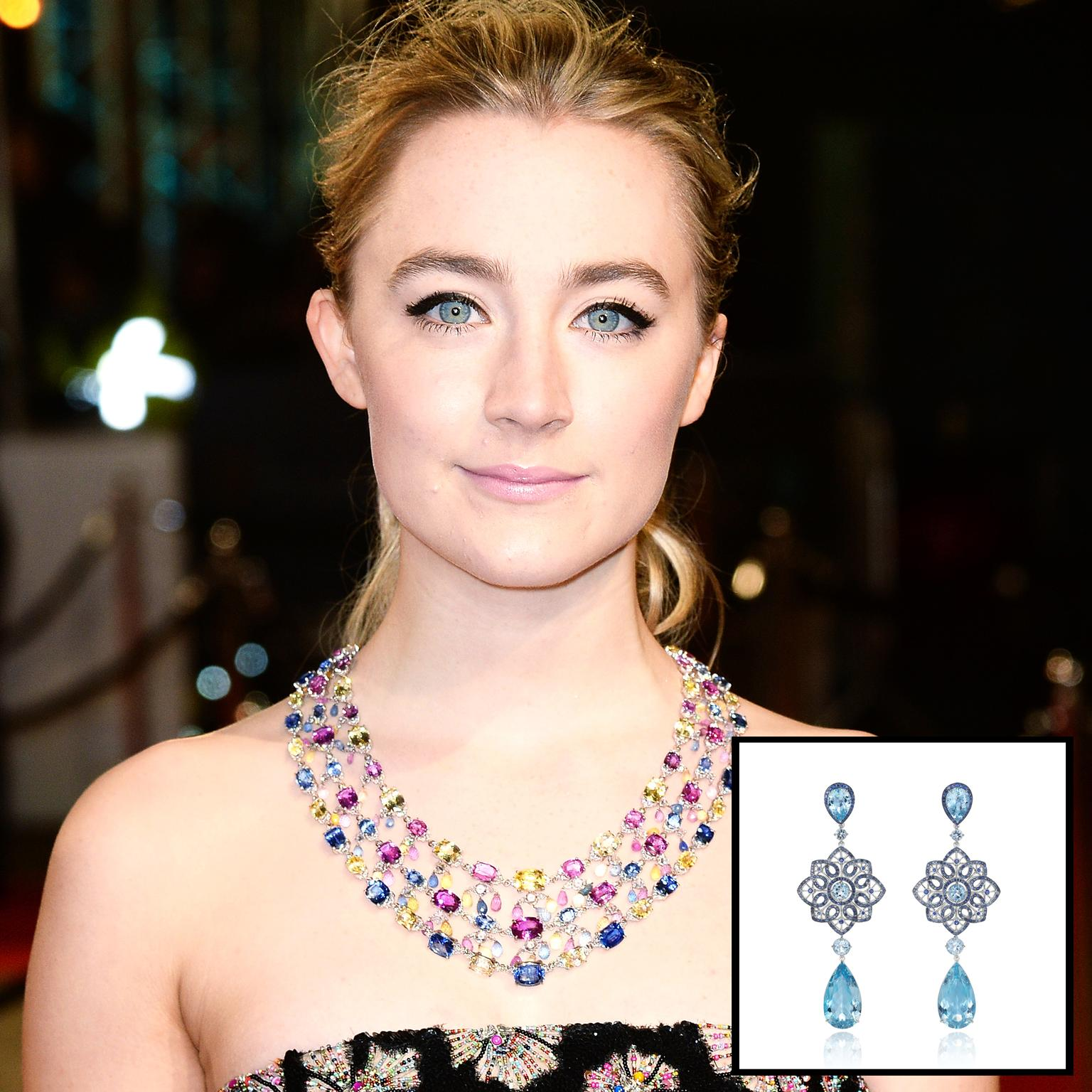 Red carpet prediction Saoirse Ronan wearing Chopard