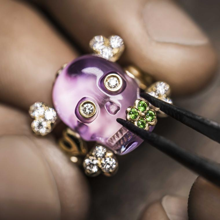 Dior Tête de Mort: the friendly face of skull jewellery