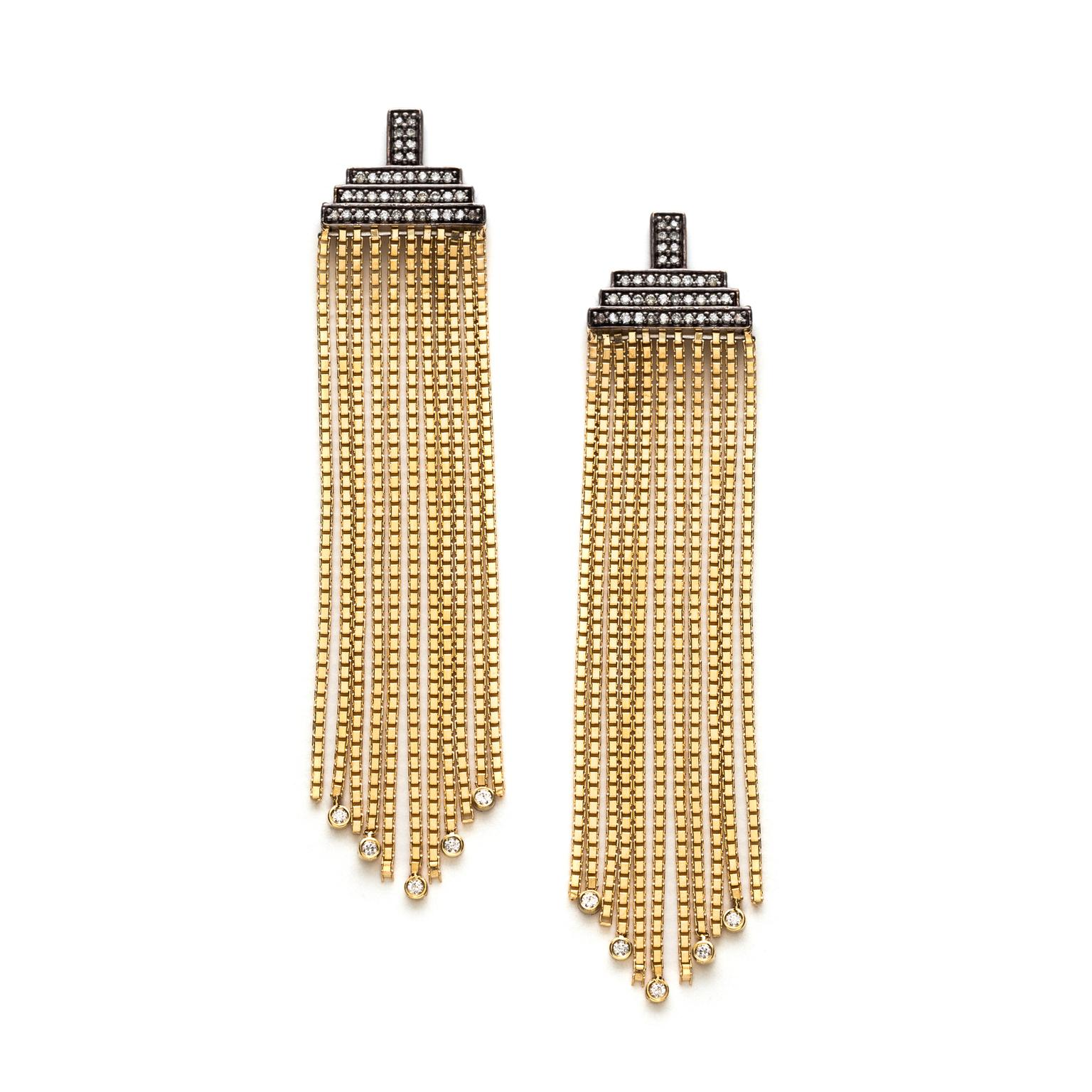 Sorellina fringe earrings