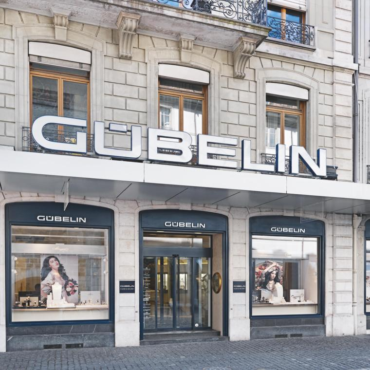 Gübelin boutique in Geneva