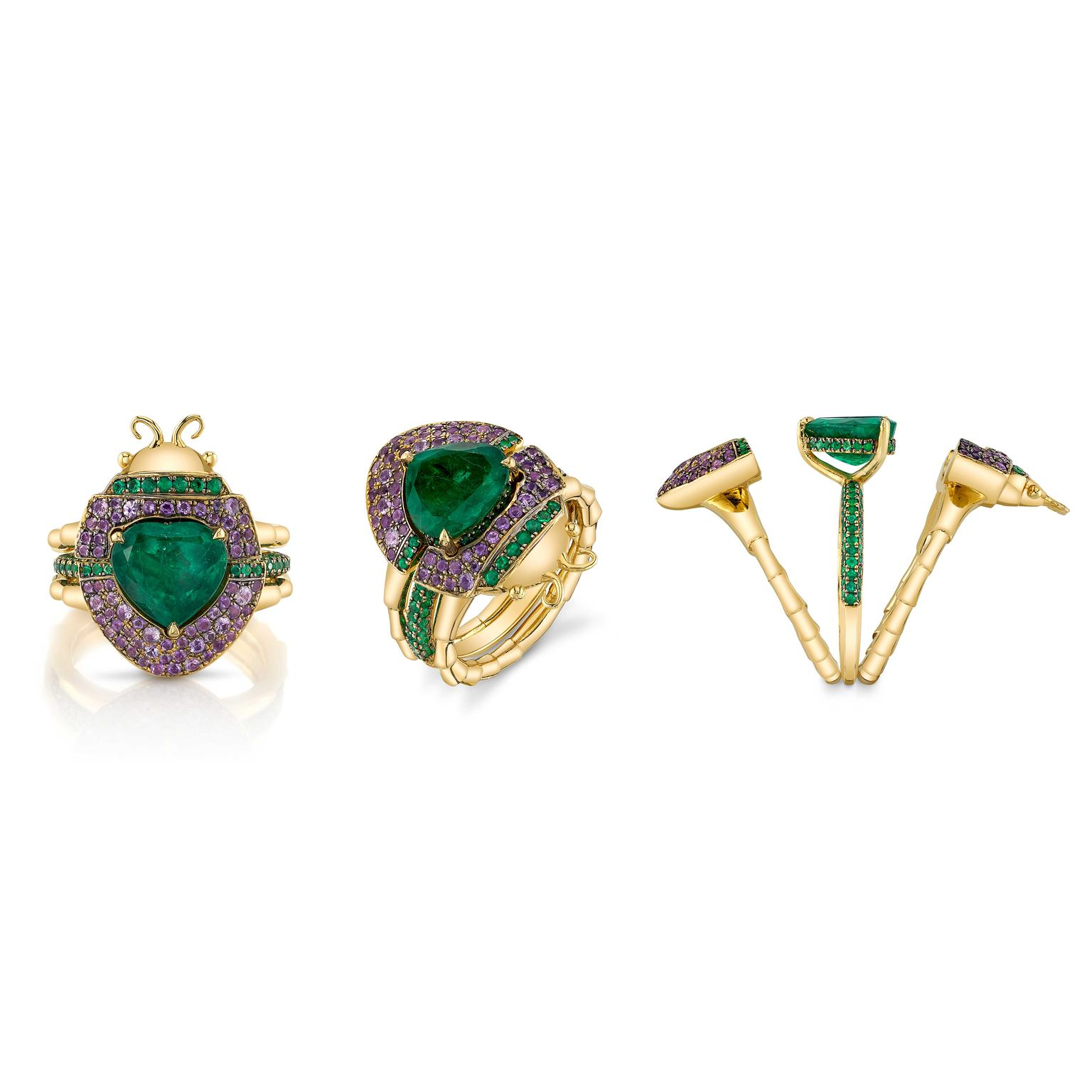 Daniela Villegas adaptable Rings