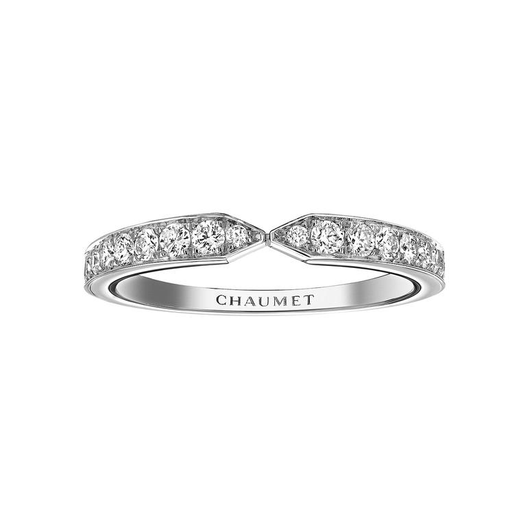 Chaumet Joséphine Eclat Floral wedding band