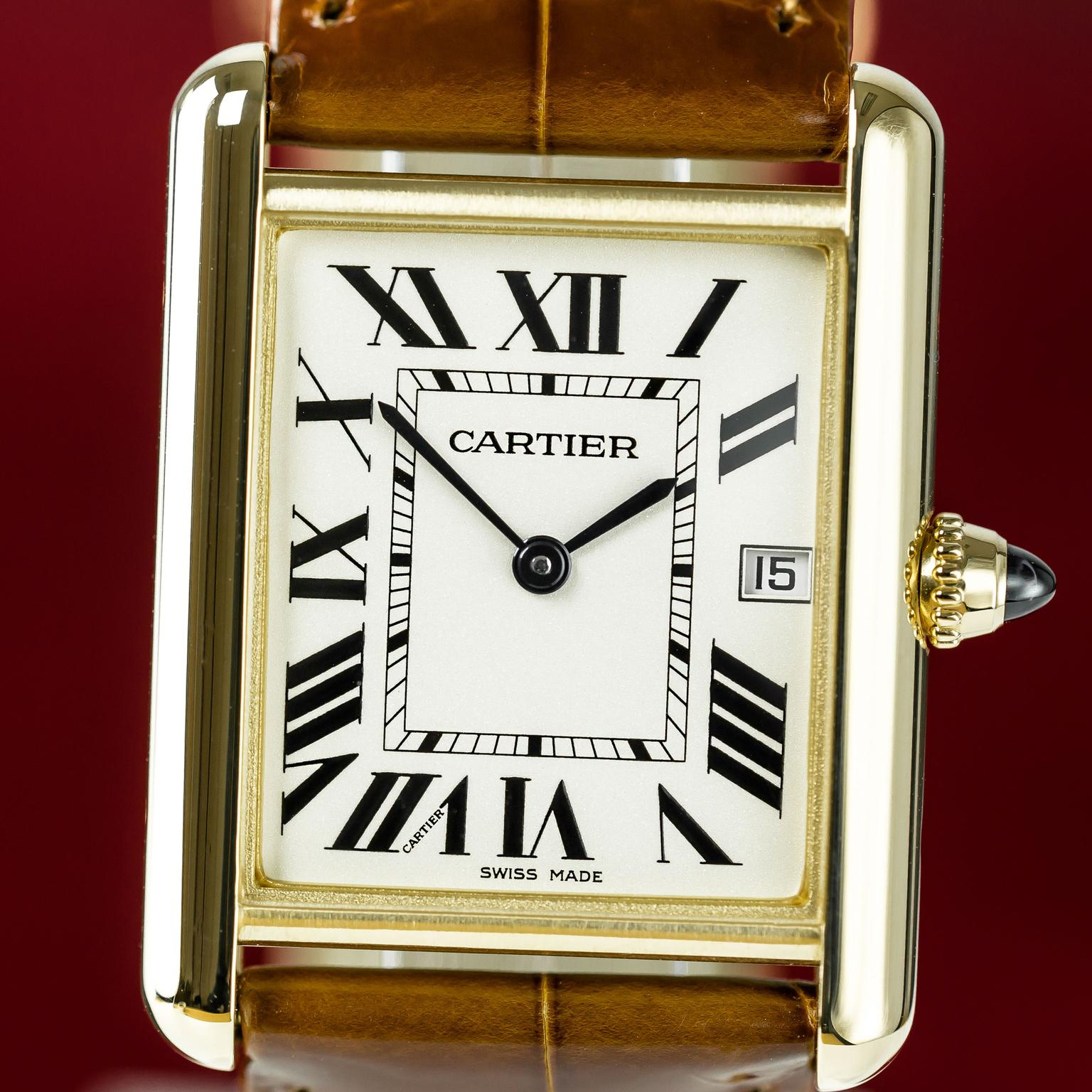 Louis Cartier Tank watch