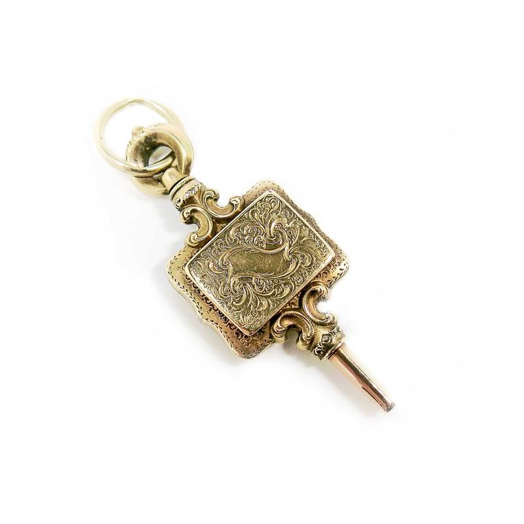 The Gold Hatpin key locket
