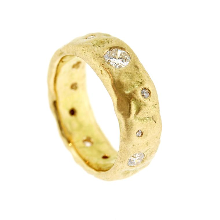 Baroque Brighton Molten wedding band