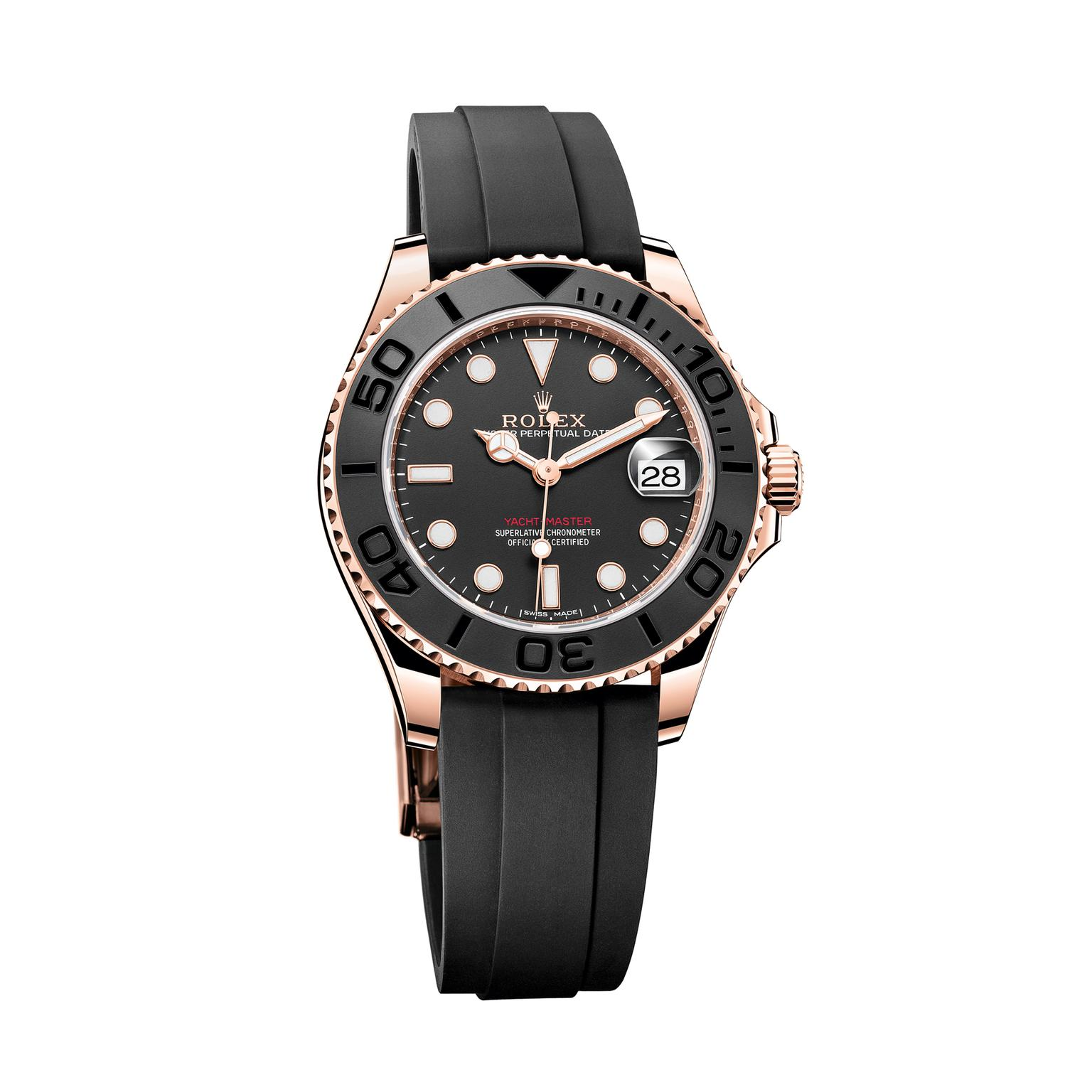 Rolex Yacht-Master 37mm watch in Everose gold