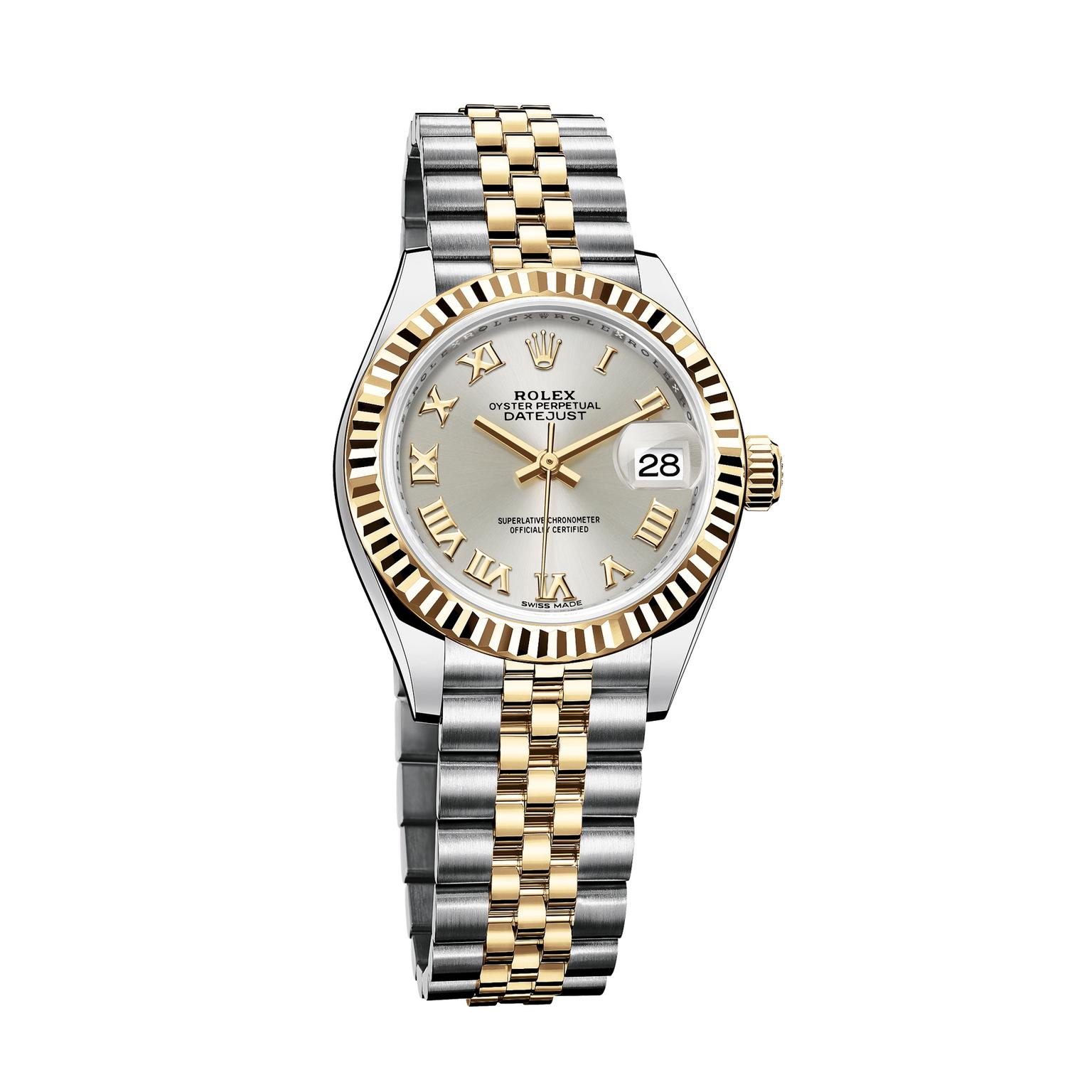 Rolex Lady Datejust 28mm watch Rolesor