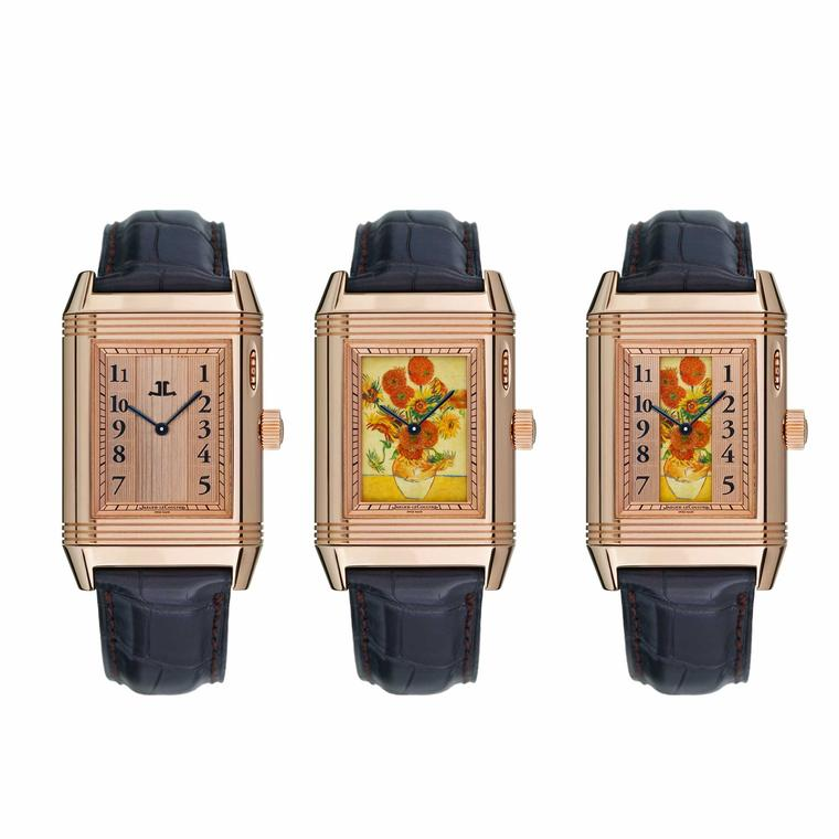 Van Gogh's Sunflowers immortalised on the Jaeger-LeCoultre Reverso watch