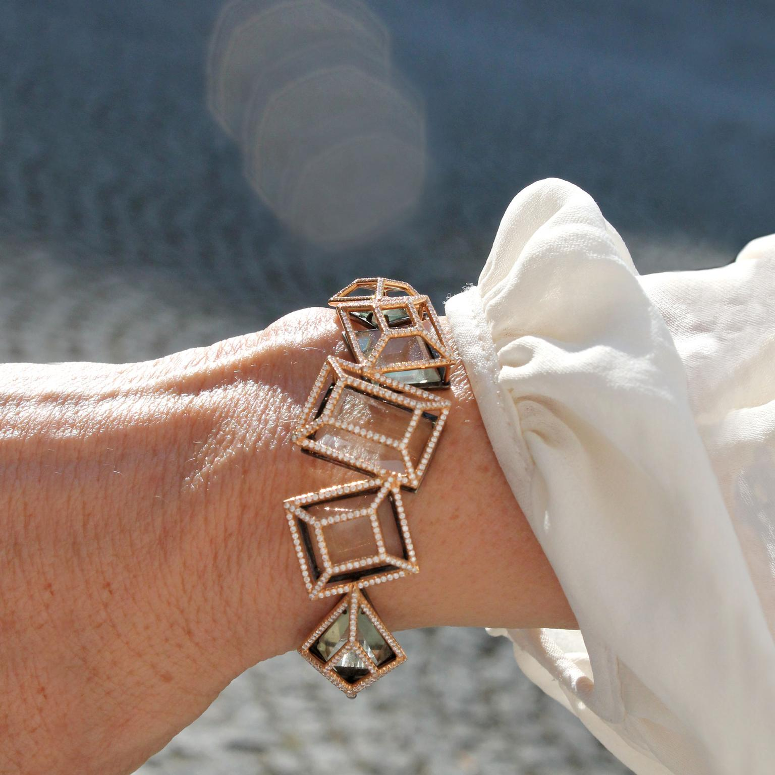Aenea Facette bangle