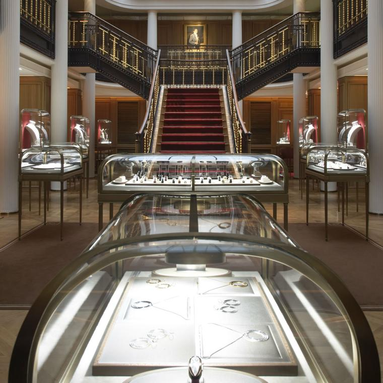 Cartier flagship boutique Paris