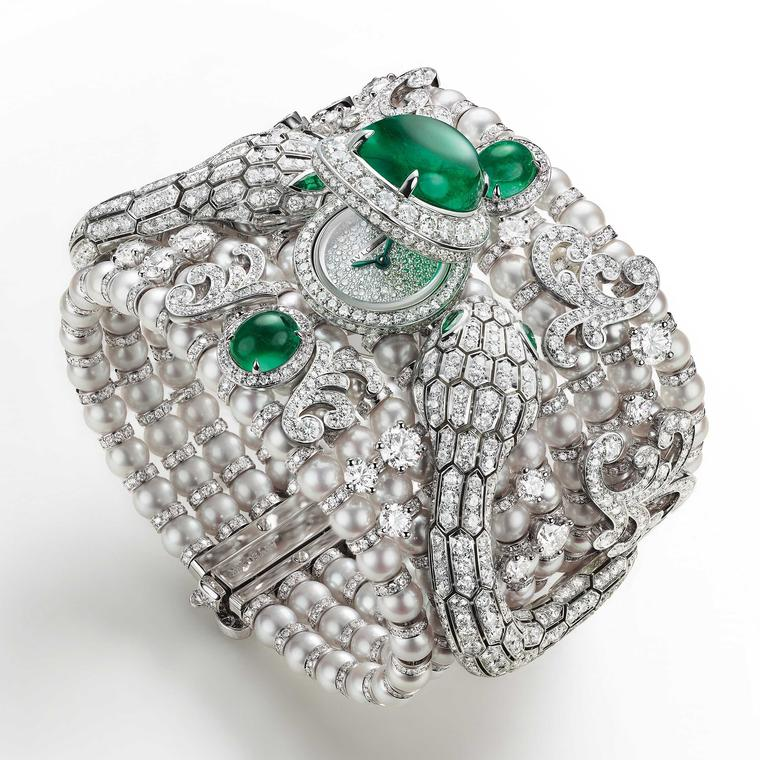 Serpenti Misteriosi secret watch by Bulgari