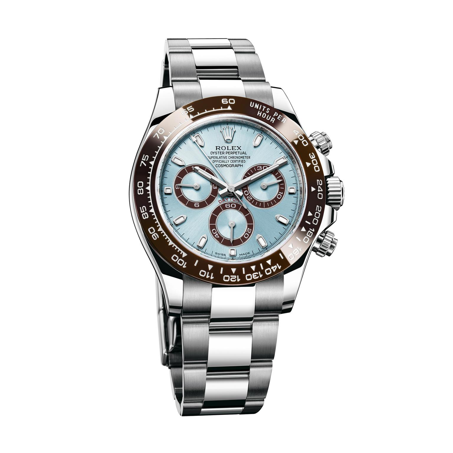 18dd4f6ad64 Oyster Perpetual Cosmograph Daytona 40mm platinum watch