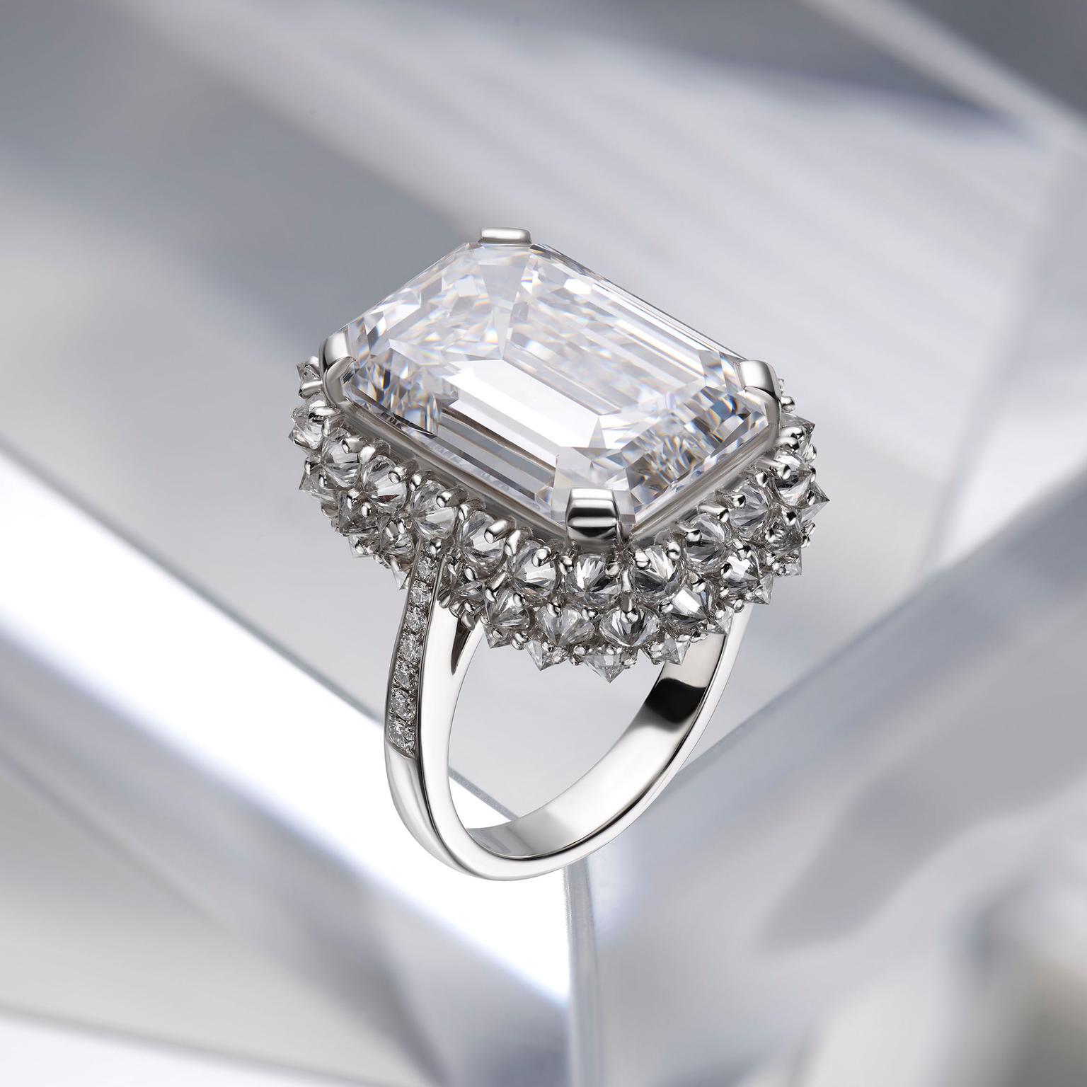 Bulgari Festa high jewellery diamond ring