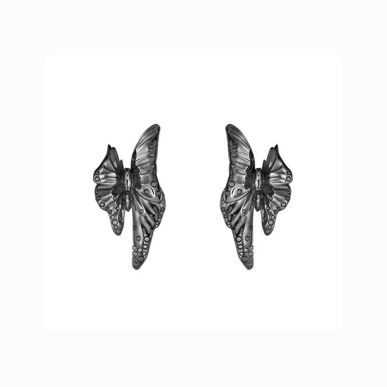 Jordan Askill for Georg Jensen butterfly earrings