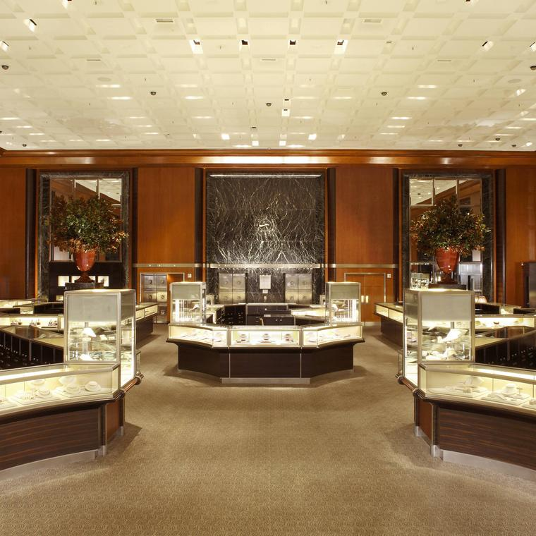 Tiffany's flagship store in New York