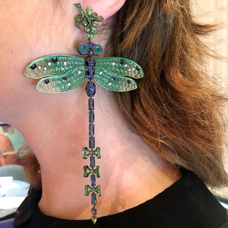 Earrings, wings and climbers