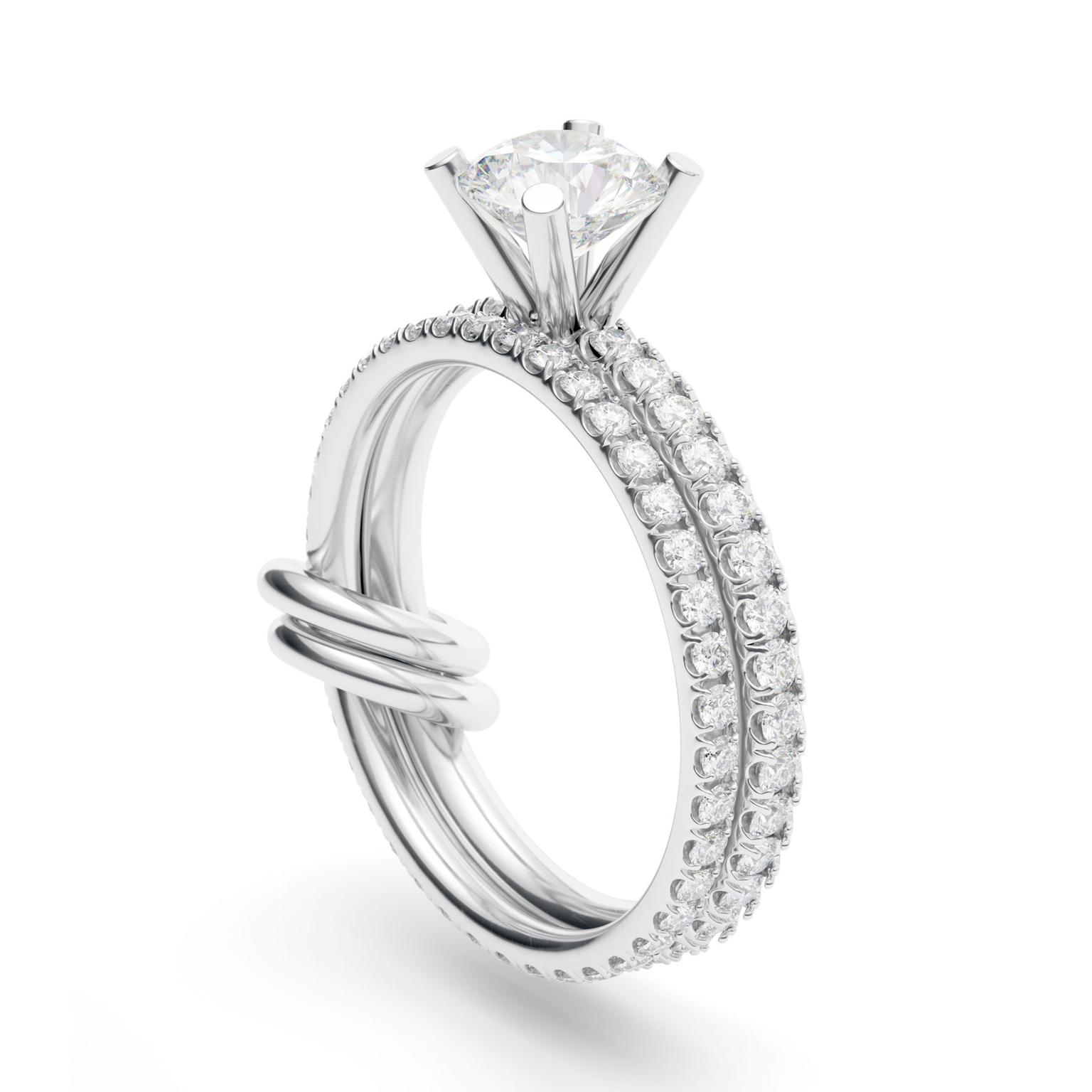 Spinelli Kilcollin Petra 2-carat engagement ring