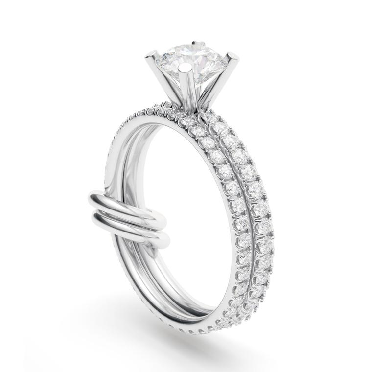 Petra 2-carat diamond engagement ring