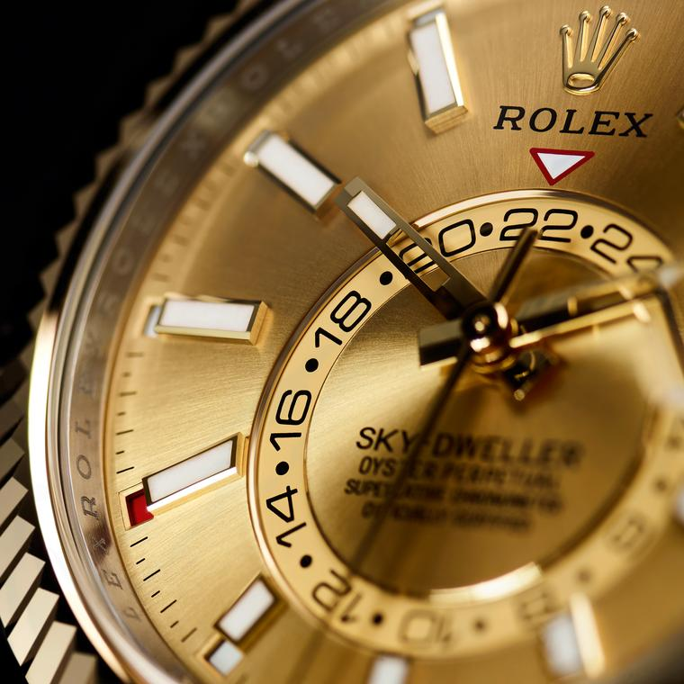 Rolex Sky-Dweller watch 2017 Rolesor model