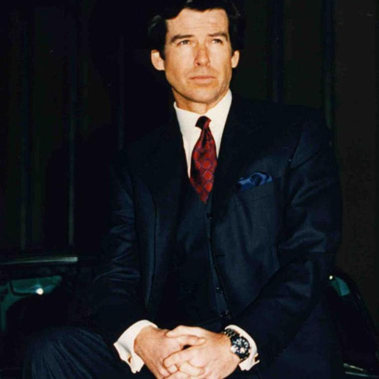 Pierce Brosnan was the first Bond to strap on an Omega Seamaster Professional 300m quartz watch complete with a laser beam and remote control for detonating devices in GoldenEye.