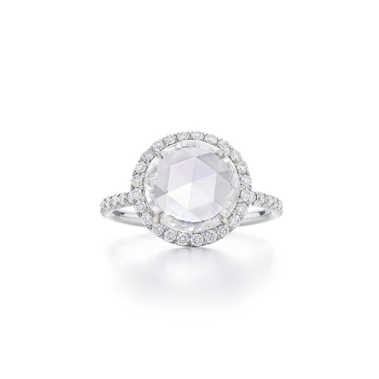 Fred Leighton rose-cut diamond ring