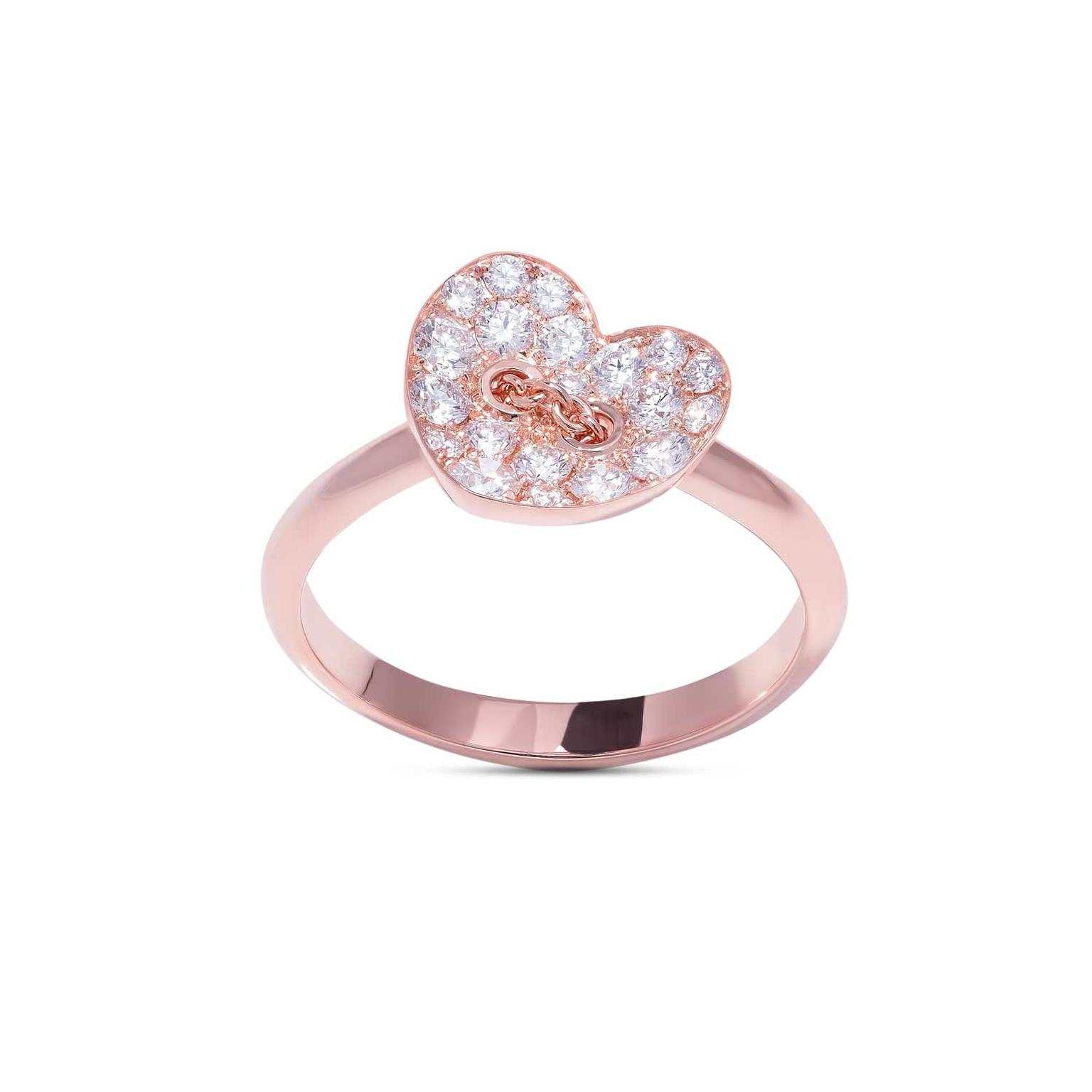 Stenzhorn Chain my Heart diamond ring