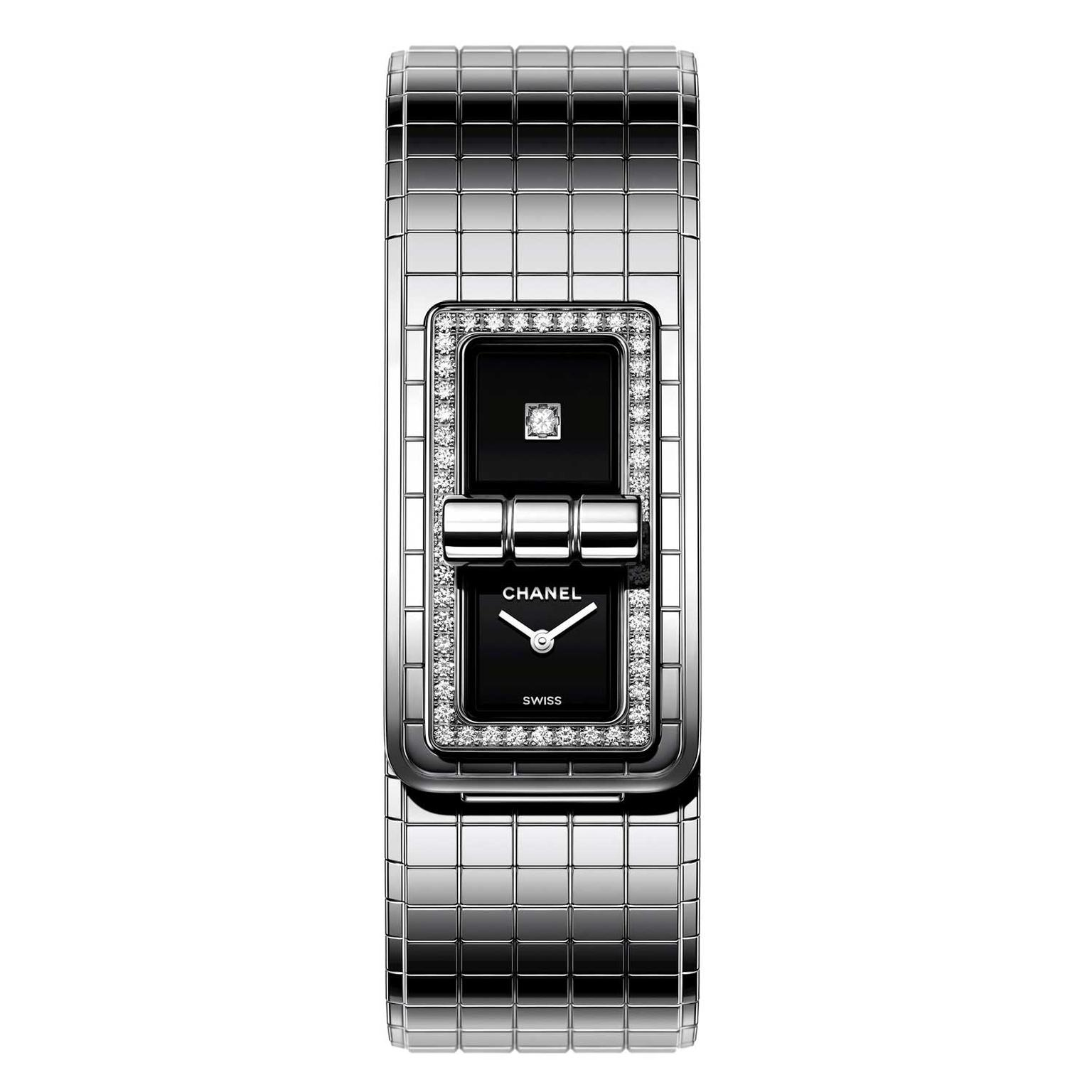 Chanel Code Coco watch with diamonds
