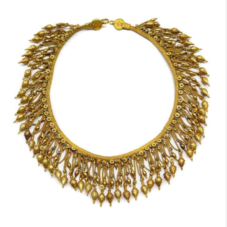SJ Phillips Castellani fringe necklace