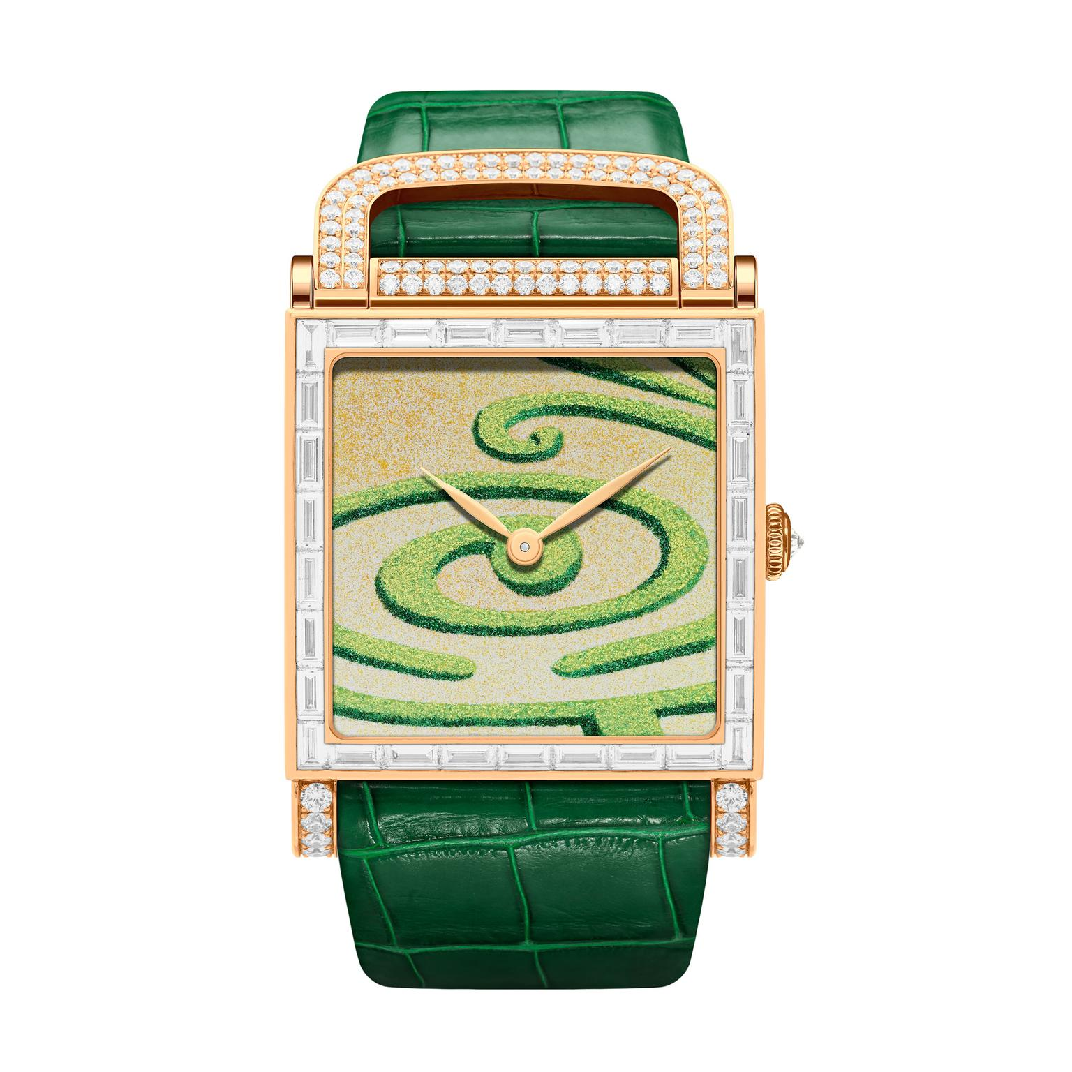 DeLaneau Arabesque watch
