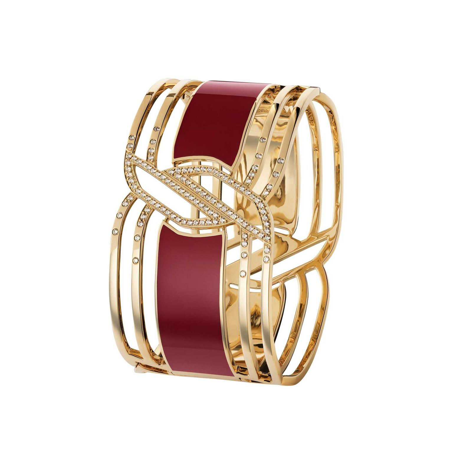 Chanel-cuff-MY-RED