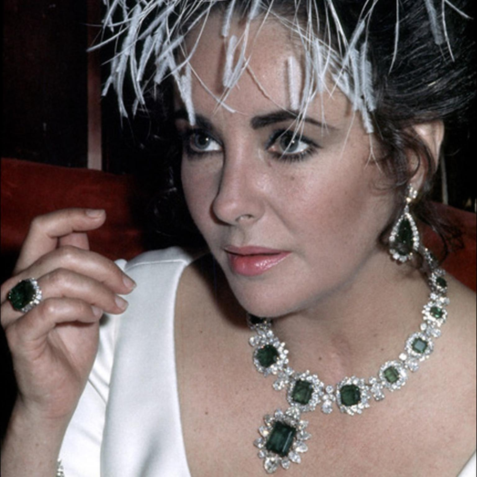 Bulgari exhibition of Elizabeth Taylor's jewellery