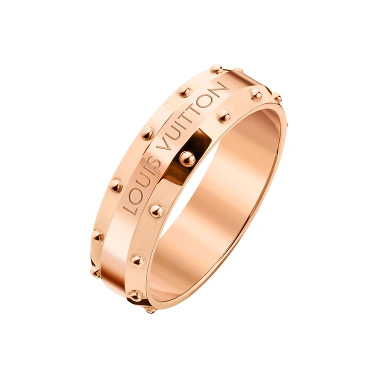 Louis Vuitton Emprise pink gold ring