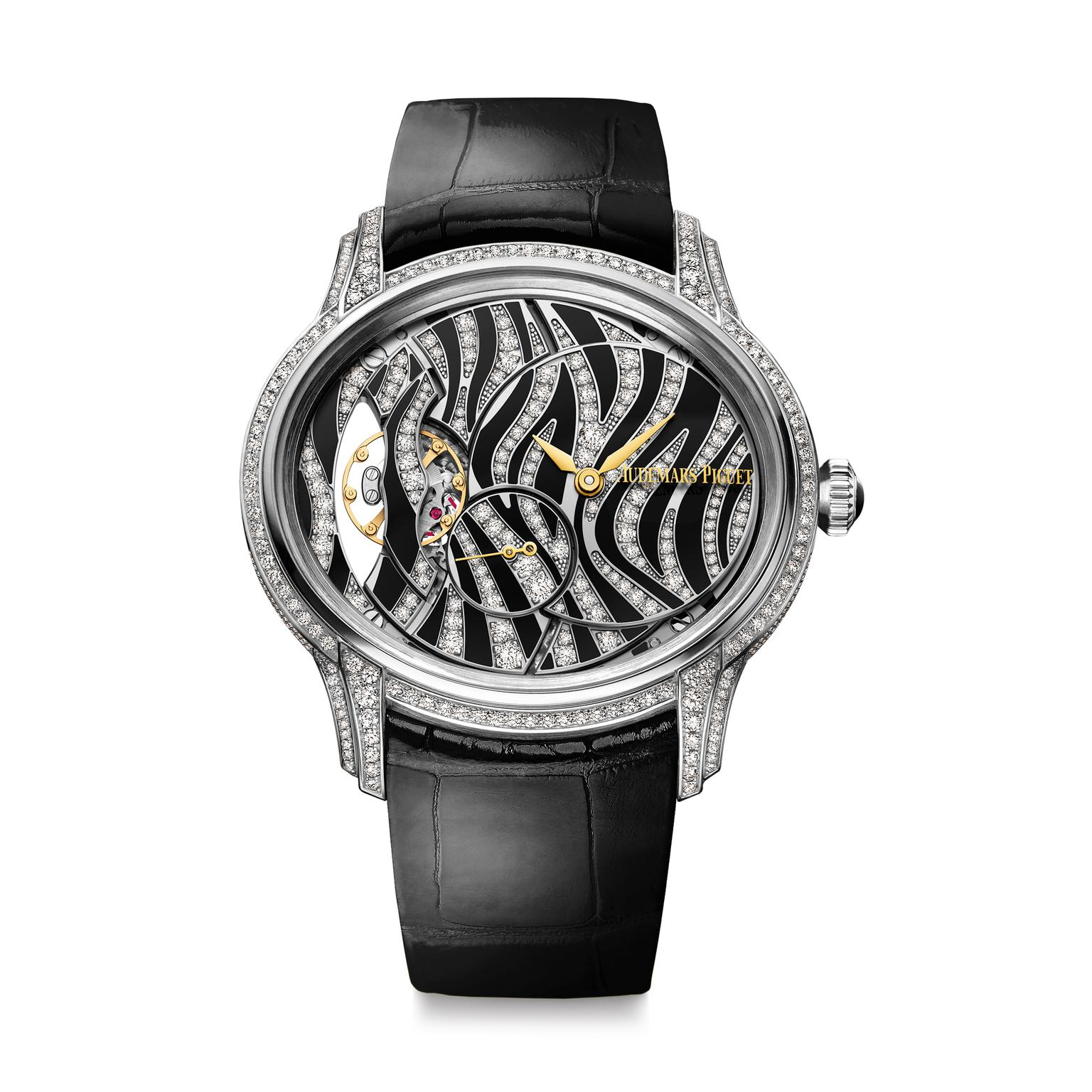 Audemars Piguet Millenary zebra watch