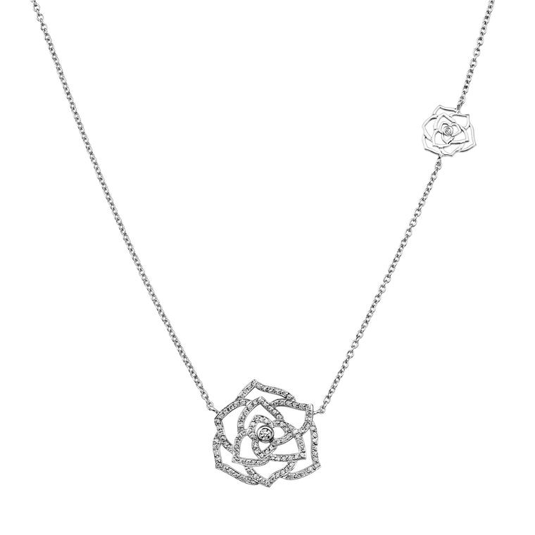 Piaget rose diamond pendant