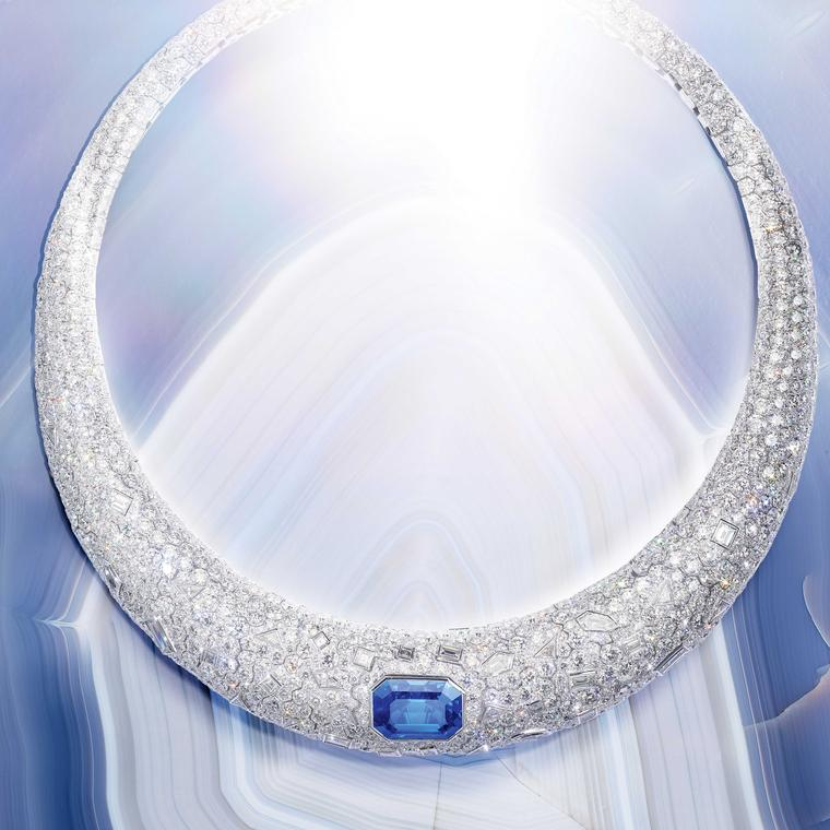 Piaget Sunlight Escape Blue Ice Necklace