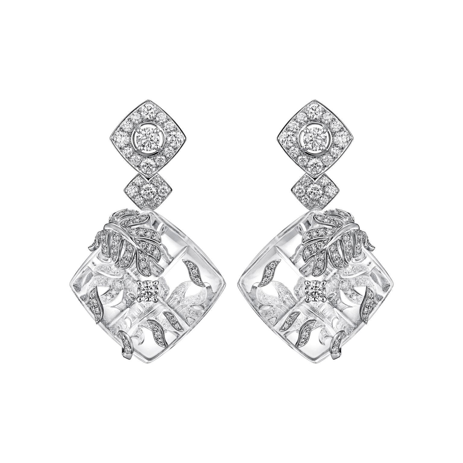 Chanel Signature Cocoon earrings