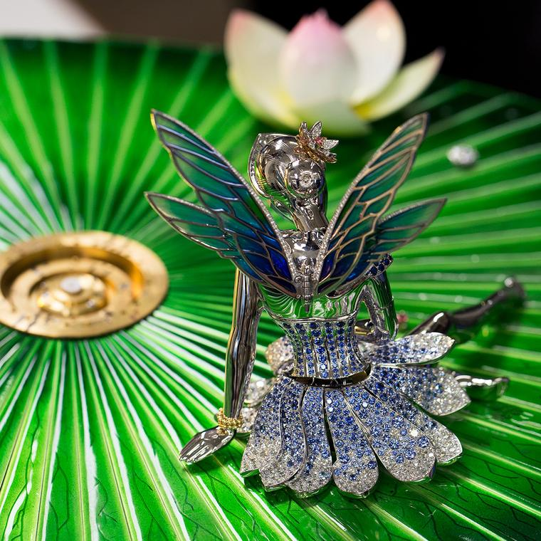 Van Cleef & Arpels Fée Ondine Sapphire and diamond tutu fairy