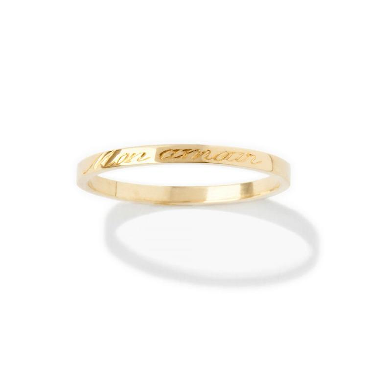 Aurelie Bidermann personalised rings