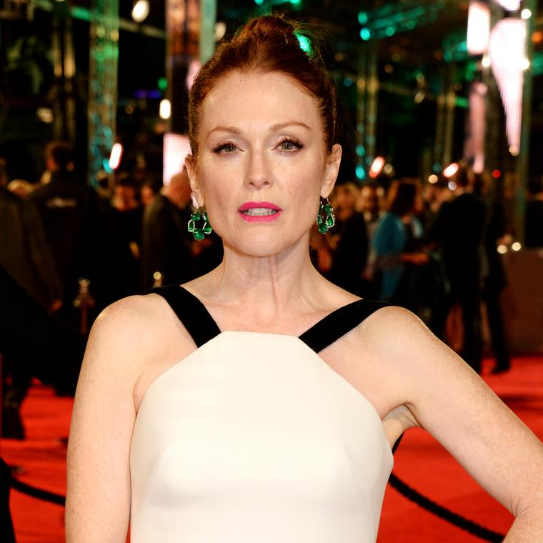 Julianne Moore wears Chopard to BAFTAs 2016