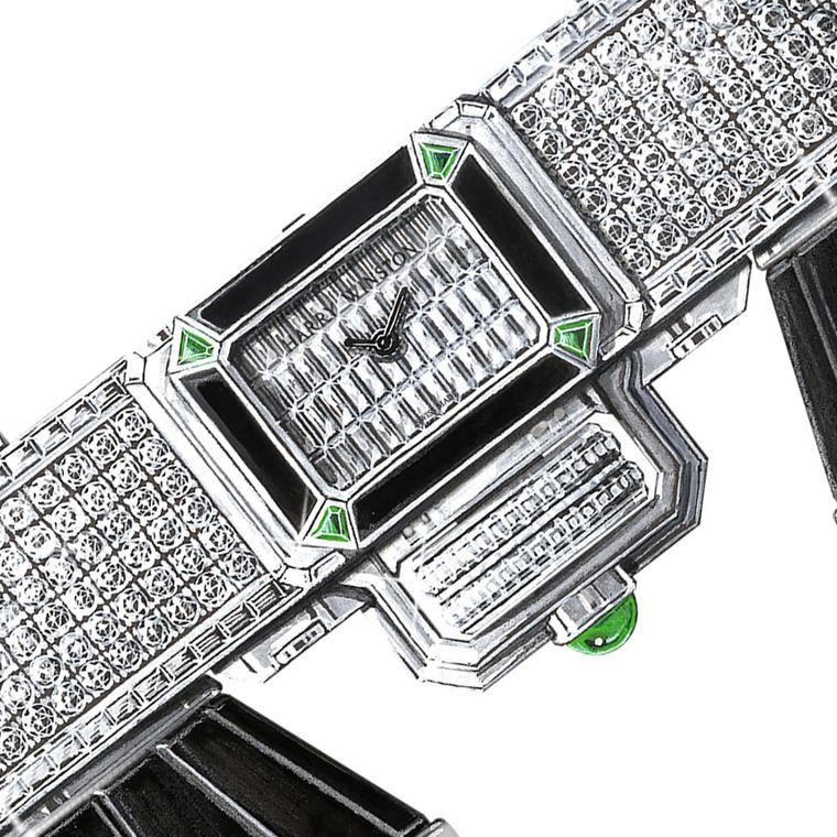 Harry Winston hits a high note